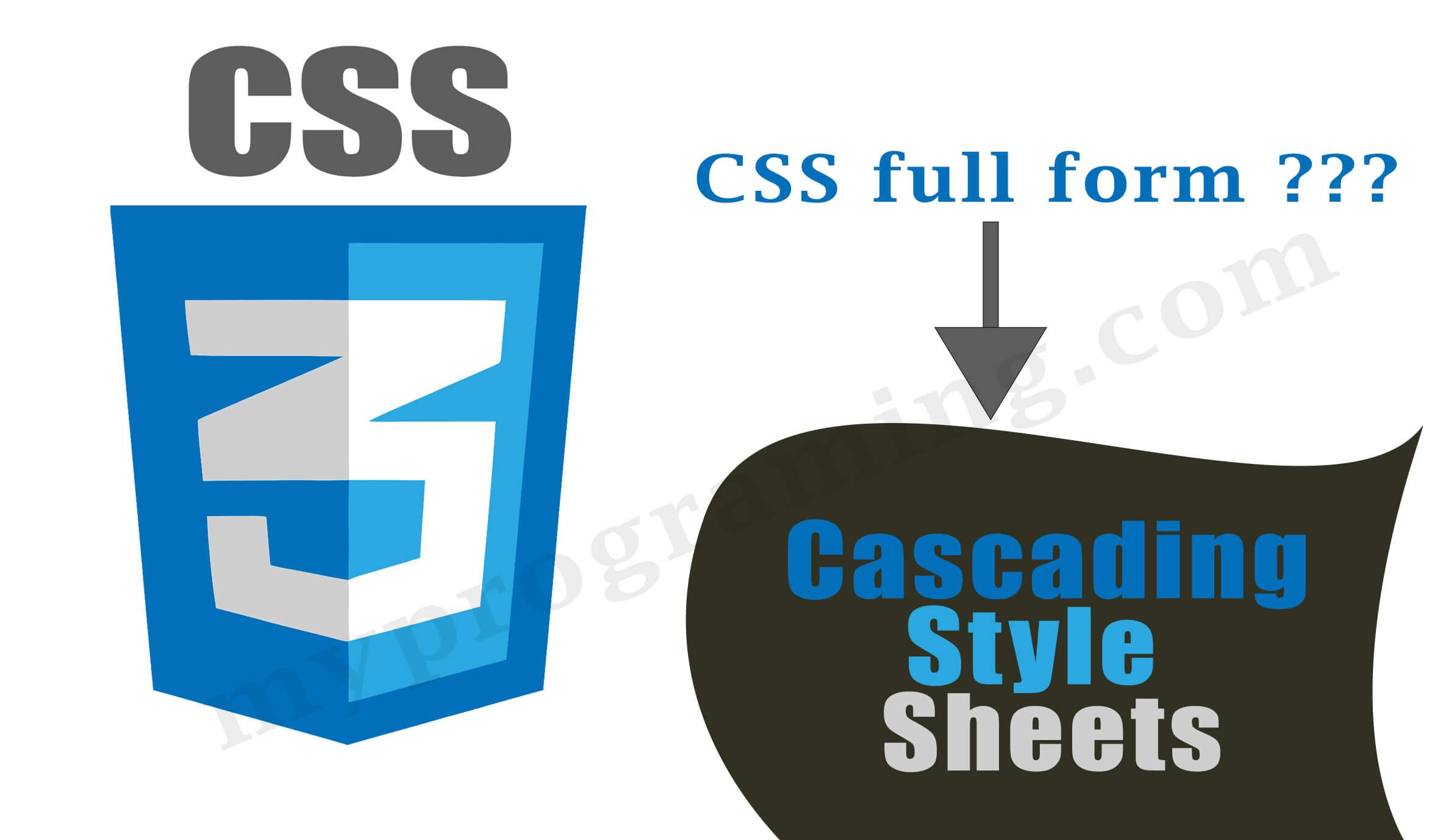 css-full-form