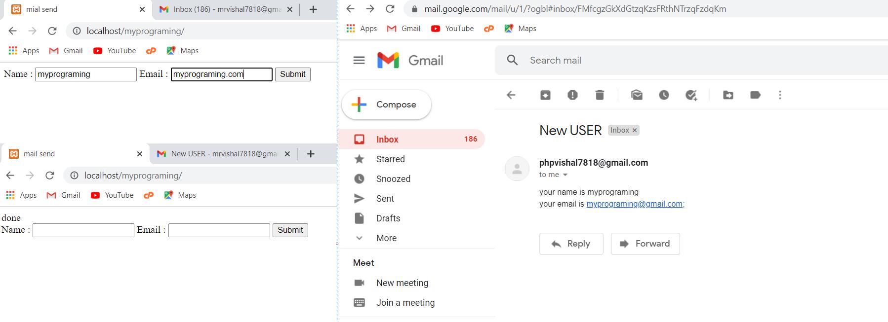 send mail in WordPress Using PHPMailer